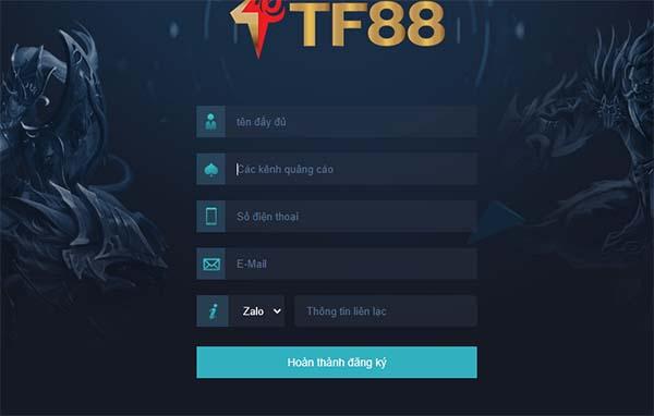 đăng ký đại lý TF88