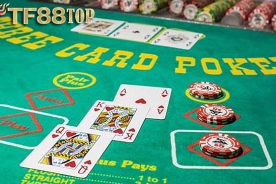 Poker 3 Lá – Khám Phá Cách Chơi Poker 3 Lá Tại TF88